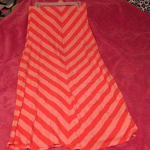 Maxi skirt, only worn once!